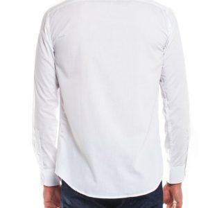 Overhemd wit heren-001