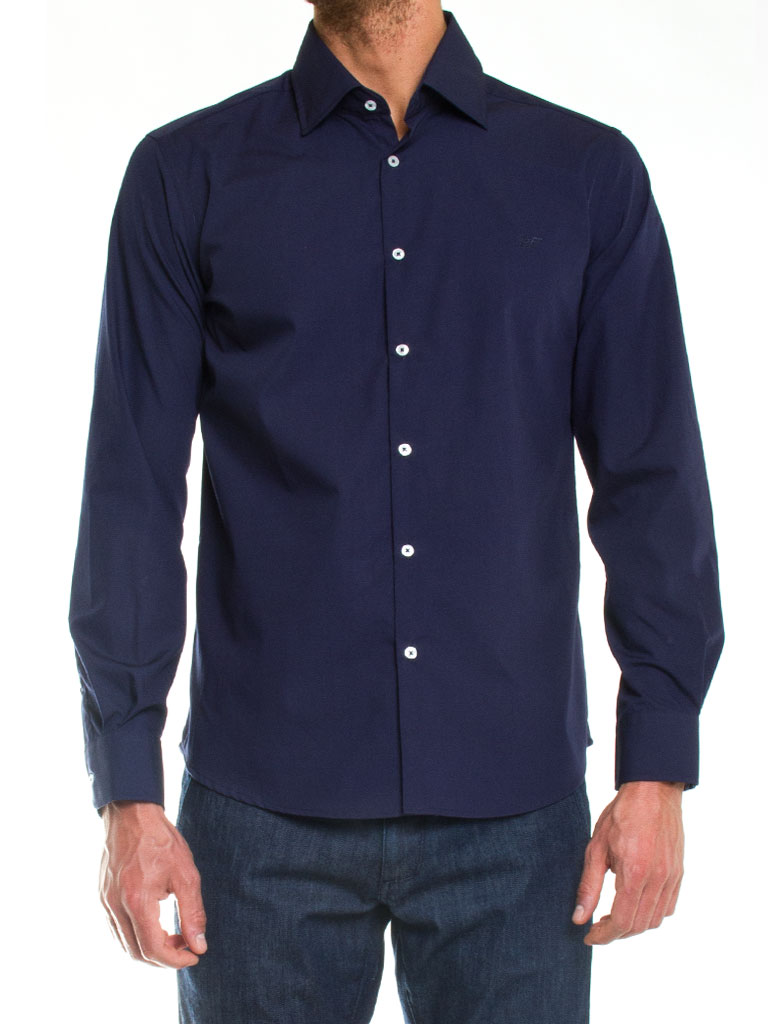 Overhemd Donkerblauw.Overhemd Donkerblauw Heren 687 Jogg Jeans Nl