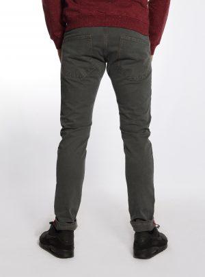 Jogg jeans heren, slim fit, donkergrijs-899
