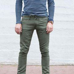 Jogg jeans olijfgroen
