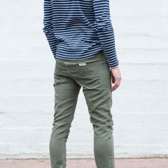 jogg jeans groen achterkant