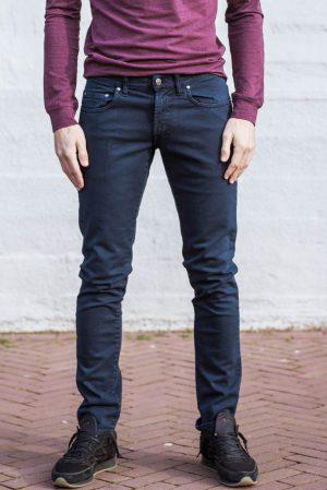 Stretch jeans blauw