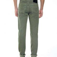 Mosgroene jogg jeans heren, regular fit-798