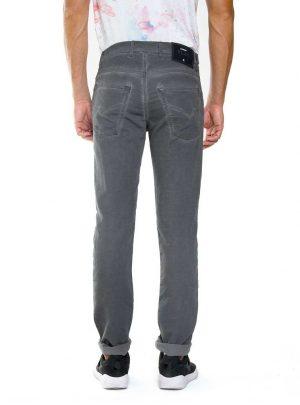 Jogg jeans heren grijs, regular fit-899