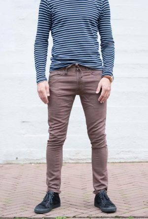 Jogg jeans bruin