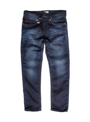 Jogg jeans spijker donker, regular fit-012