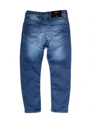 Jogg-jeans kids spijker, baggy fit-710