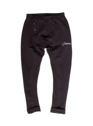 Joggingbroek baggy zwart girls-899