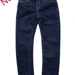 Jegging donkerblauw jeans kids-120