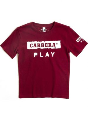 T-shirt logo Carrera Play rood