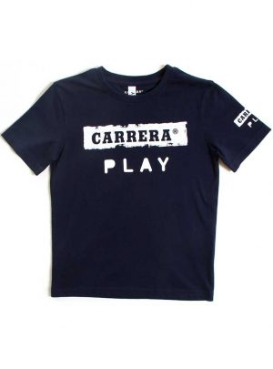 T-shirt logo Carrera Play blauw