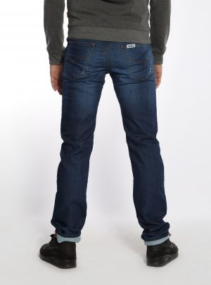 Jogg Jeans Heren Spijker, Regular Fit-021