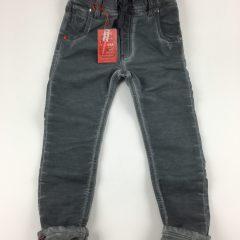 Jogg jeans unisex skinny donkergrijs-892