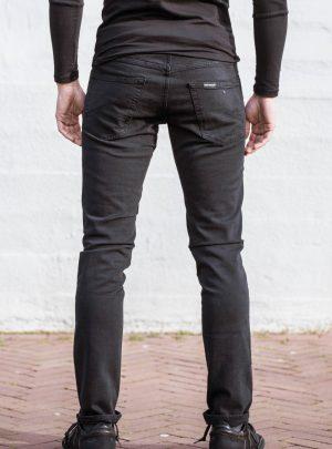 Spijkerbroek stretch zwart-899