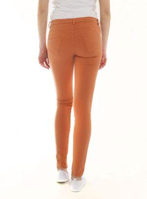 Jegging oranje dames-369