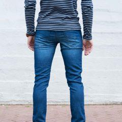 Jogg jeans heren, spijkerkleur, slimfit-710 (bestseller)