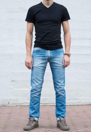 Jogg jeans licht voorkant