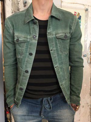 Jack jogg jeans groen kort-770