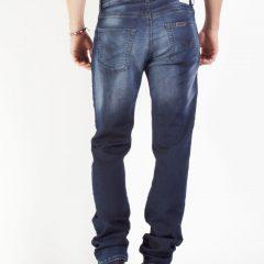 Jogg jeans heren, regular fit, donkerblauw-004 (extra lang!)