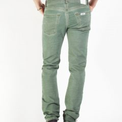 Jogg jeans heren, regular fit, groen-770