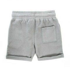 Korte broek kinderen grijs achterkant