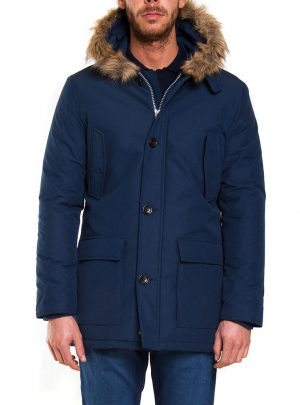winterjas Carrera donkerblauw