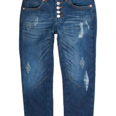 Jogg jeans meisjes baggy fit