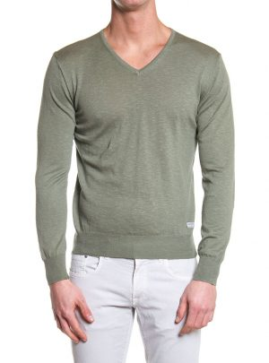 sweater mannen v-hals