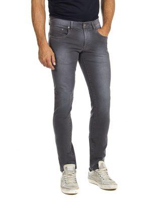 Elastische jeans grijs