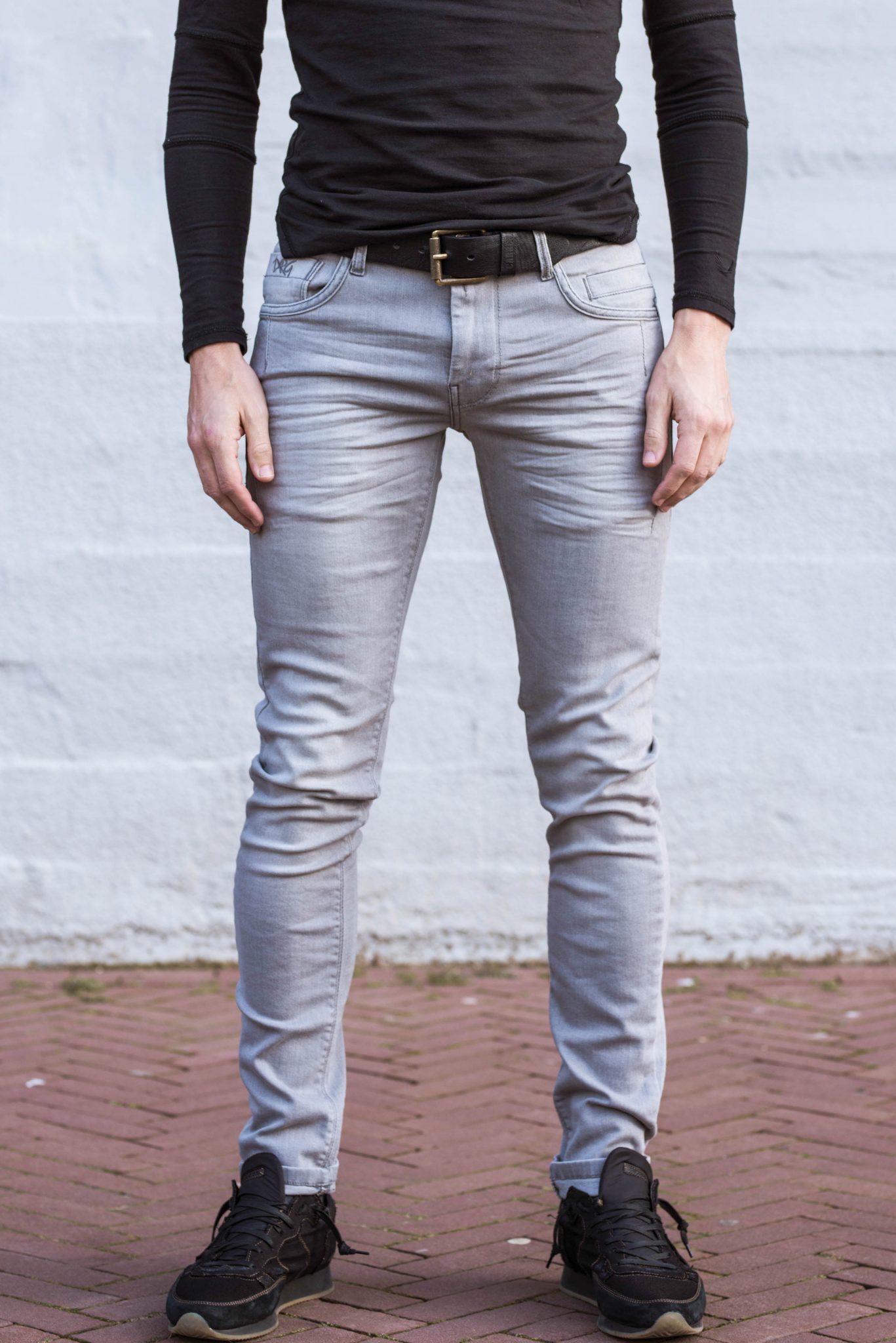 Betere Dragster Super Stretch Jeans Grijs, Lengte 36 !! - Jogg-jeans.nl PR-63