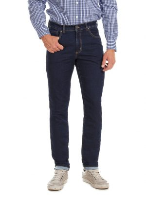 Jogg jeans heren donkerblauw