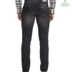 """Jogg jeans zwart/grijs regular fit, """"Paspoort""""-910 Aloë"""