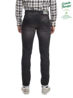 "Jogg Jeans Zwart/Grijs Regular Fit,""Paspoort""-910"