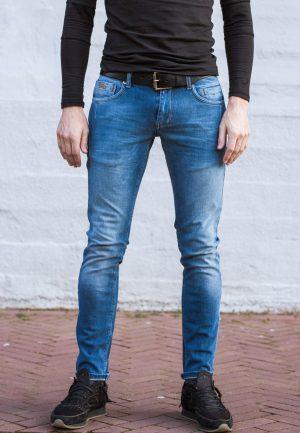 stretch jeans licht