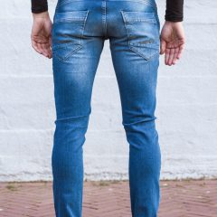 Stretch jeans achterkant