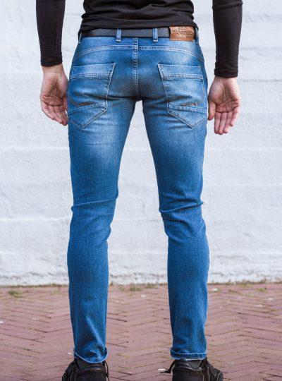Stretch jeans achterkant
