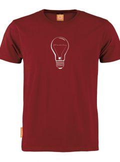 Okimono T-shirt heren, Skyline 040 Lichtstad