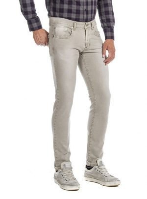 jeans stretch beige