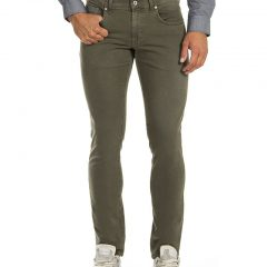 jeans olijfgroen