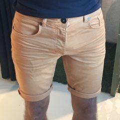 Jogg jeans korte broek oranje
