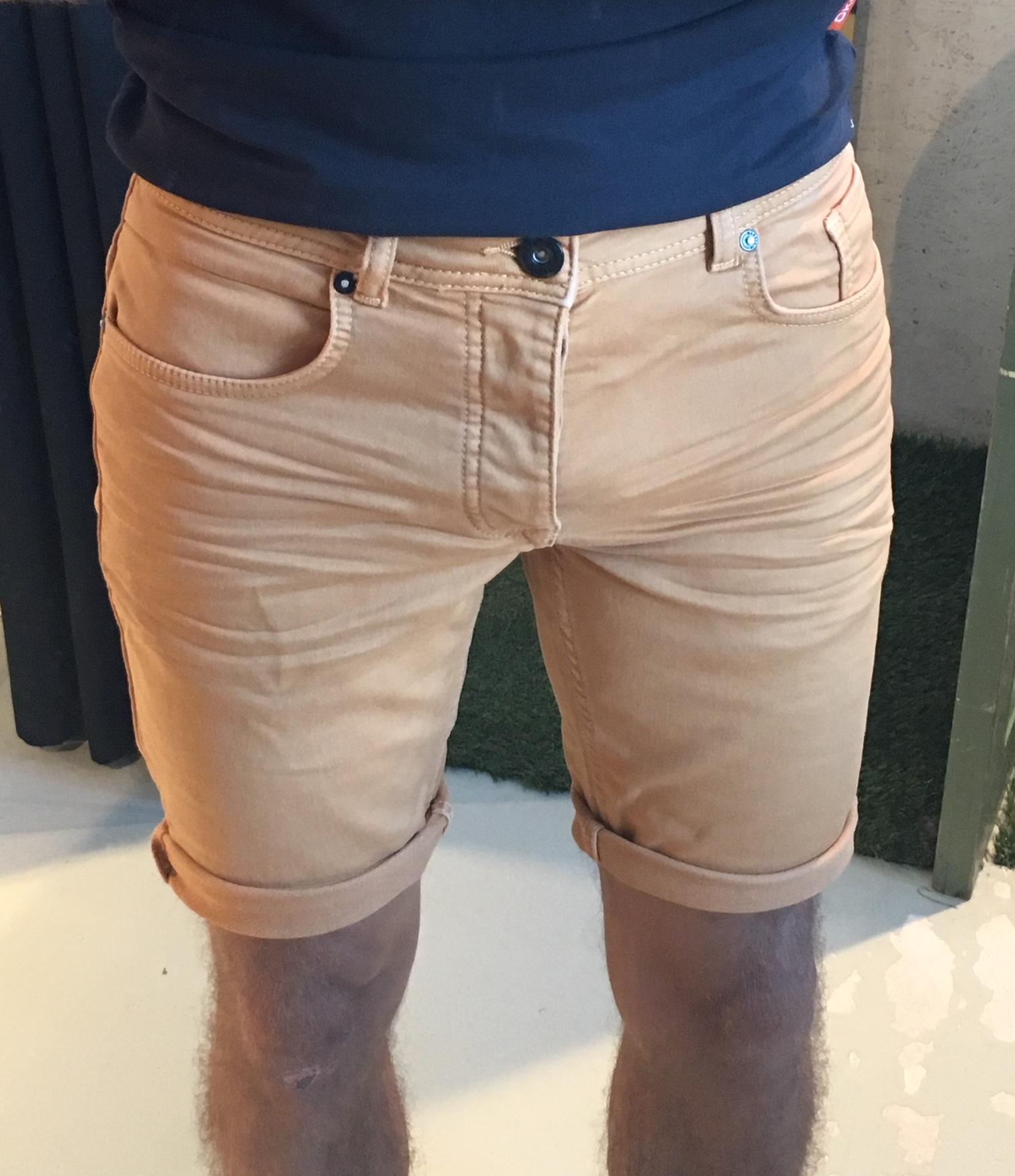 Korte Jeans Broek Heren.Jogg Jeans Korte Broek Heren Oranje Jogg Jeans Nl