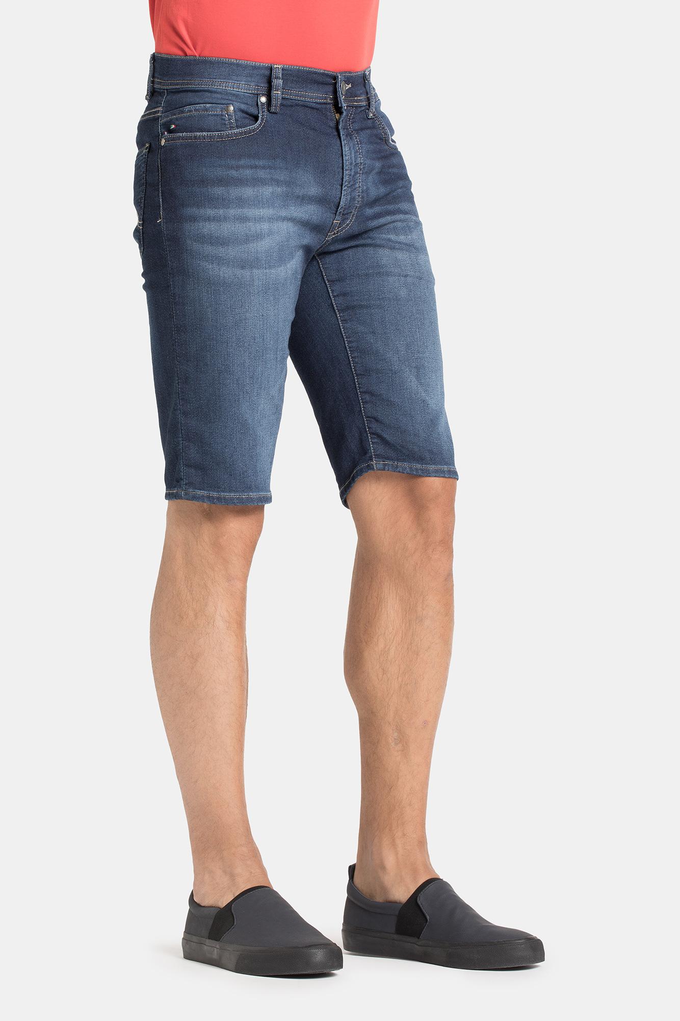 Korte Jeans Broek Heren.Jogg Jeans Korte Broek Heren Donker Spijker 112 Jogg Jeans Nl