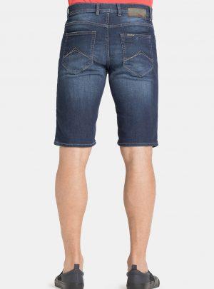 Jogg jeans korte broek achterkant