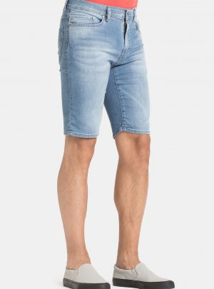 Jogg jeans korte broek spijker