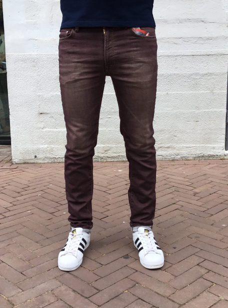 jogg jeans bordeaux