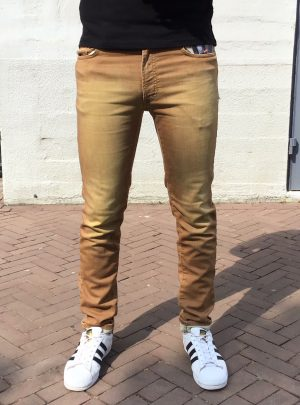 Jogg jeans camel