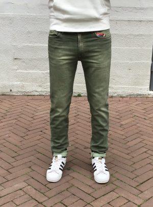 Jogg jeans heren groen