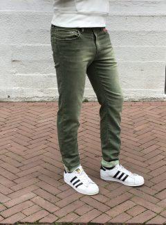 Jogg jeans heren groen, (bestseller weer op voorraad!)