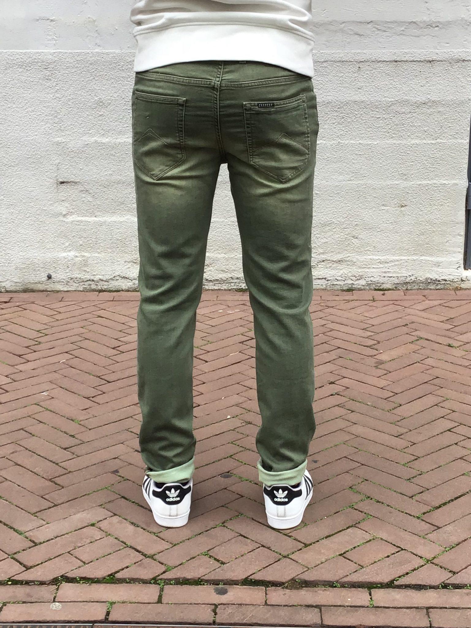 Jogg Jeans Heren Groen, Paspoort (Bestseller)