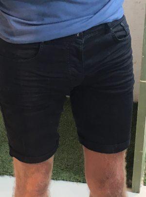 Jogg jeans korte broek zwart